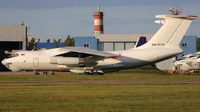 EW-76734 - Ilyushin IL-76TD - Transavia Export