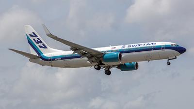 N276EA - Boeing 737-8AL - Swift Air