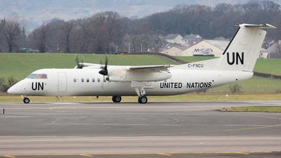 A picture of CFNCU - De Havilland Canada Dash 8300 - United Nations - © Rolf Jonsen