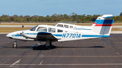 A picture of N7701A - Piper PA44180 Seminole - Skyborne Airline Academy - © Oliver Richter