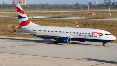 ZS-ZWW - Boeing 737-82R - British Airways (Comair)