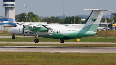 A picture of LNWFP - De Havilland Canada Dash 8300 - Wideroe - © Arkadiusz Smó?kowski