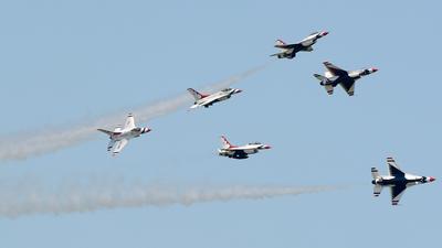92-3908 - Lockheed Martin F-16C Fighting Falcon - United States - US Air Force (USAF)