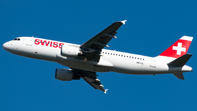 A picture of HBIJL - Airbus A320214 - Swiss - © Matei Dascalu - RomeAviationSpotters