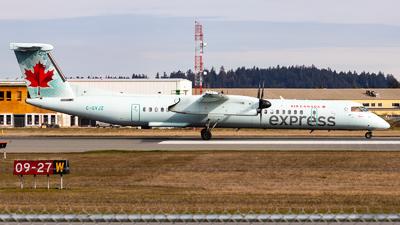 A picture of CGVJZ - De Havilland Canada Dash 8400 - Air Canada - © Grant Gladych