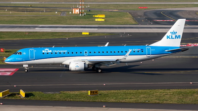 A picture of PHEXD - Embraer E190STD - KLM - © Marco Materlik