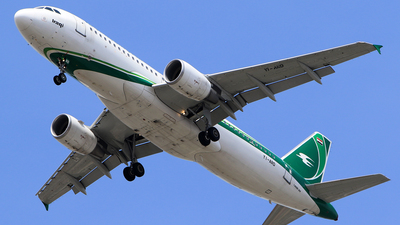 YI-ARD - Airbus A320-214 - Iraqi Airways