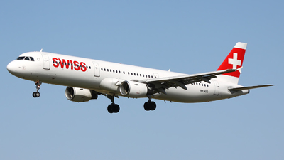 A picture of HBIOD - Airbus A321111 - Swiss - © Rafal Pruszkowski