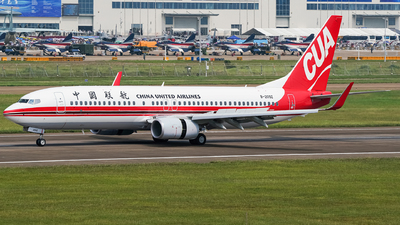 B-209Z - Boeing 737-89P - China United Airlines