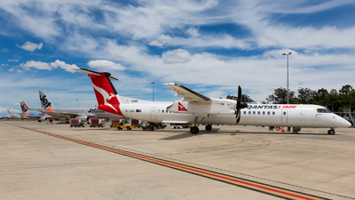 VH-QOX - Bombardier Dash 8-Q402 - QantasLink (Sunstate Airlines)