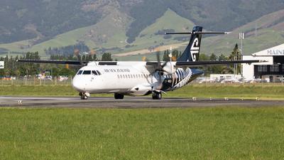 ZK-MCU - ATR 72-212A(500) - Air New Zealand