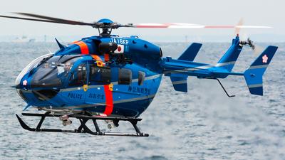 JA16KP - Kawasaki BK117C-2 - Japan - Police