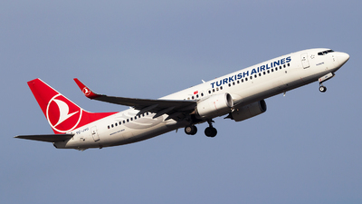 A picture of TCJVG - Boeing 7378F2 - Turkish Airlines - © Emre Tanrivermis