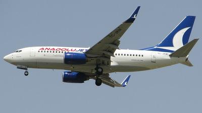 TC-JKM - Boeing 737-76N - AnadoluJet