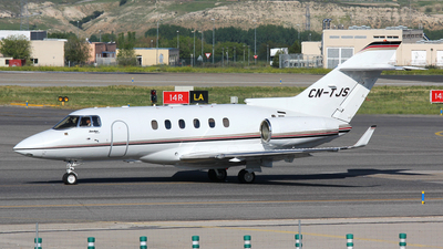 CN-TJS - Hawker Beechcraft 900XP - Private