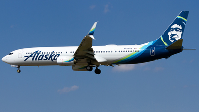 A picture of N479AS - Boeing 737990(ER) - Alaska Airlines - © Conor Clancy