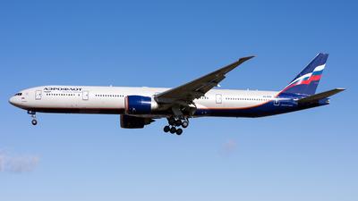 A picture of VQBQM - Boeing 7773M0(ER) - Aeroflot - © David John Dillon