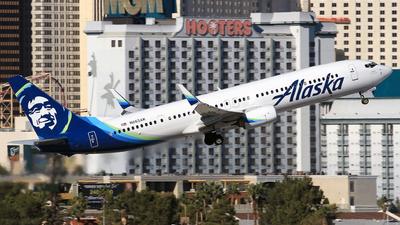 N263AK - Boeing 737-990ER - Alaska Airlines