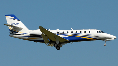 N989H - Cessna 680 Citation Sovereign - Private
