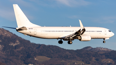A picture of OMKEX - Boeing 7378BK - Badr Airlines - © Markus Buttinger