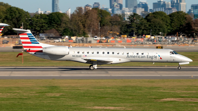 A picture of N636AE - Embraer ERJ145LR - American Airlines - © Yan777