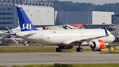 D-AUAJ - Airbus A320-251N - Scandinavian Airlines (SAS)