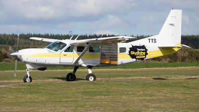 ZK-TTS - Cessna 208 Caravan - Taupo Tandem Skydiving