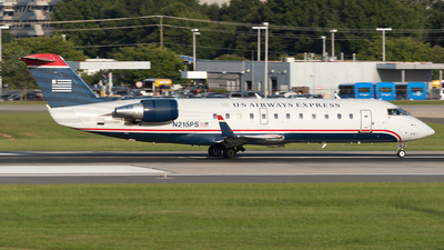 N215PS - Bombardier CRJ-200ER - US Airways Express (PSA Airlines)