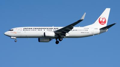 JA12RK - Boeing 737-8Q3 - Japan TransOcean Air (JTA)