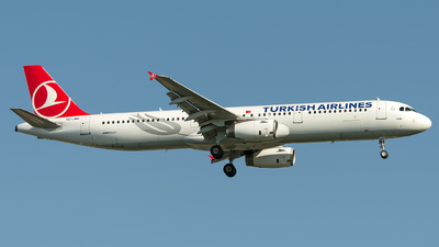 TC-JMH - Airbus A321-231 - Turkish Airlines