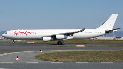 9H-JAI - Airbus A340-313X - SpiceXpress (HiFly Malta)
