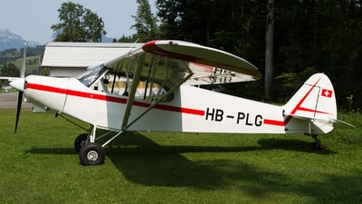 HB-PLG - Piper PA-18-150 Super Cub - Private