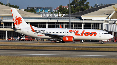 A picture of HSLUQ - Boeing 7378GP - Thai Lion Air - © Ratchapon Pipitsombat