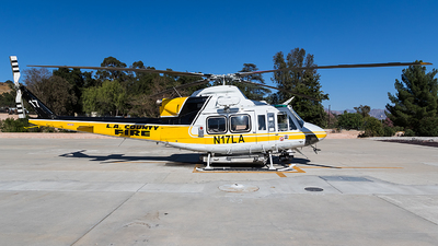 N17LA - Bell 412HP - United States - Los Angeles County Fire Department