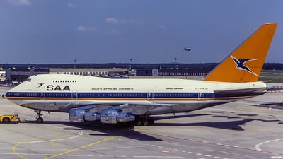 ZS-SPA - Boeing 747SP-44 - South African Airways
