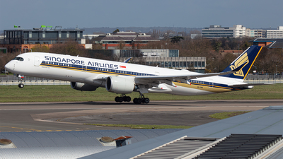 A picture of 9VSMW - Airbus A350941 - Singapore Airlines - © Airlinergeek