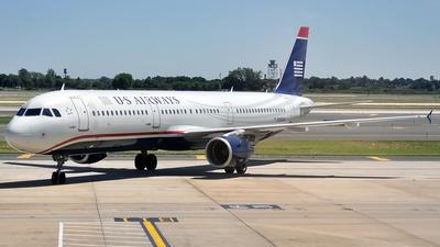 N193UW - Airbus A321-211 - US Airways