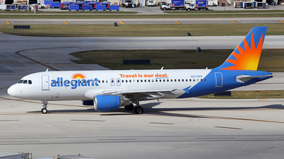N217NV - Airbus A320-214 - Allegiant Air