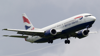 G-DOCW - Boeing 737-436 - British Airways