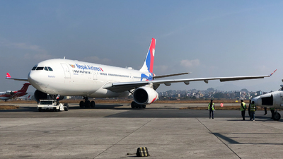 9N-ALZ - Airbus A330-243 - Nepal Airlines