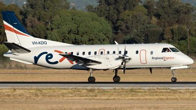 A picture of VHKDQ - Saab 340B - Regional Express - © Mitch Coad