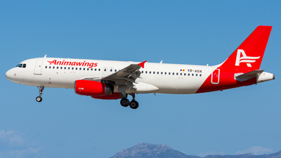 A picture of YRAGA - Airbus A320232 - Animawings - © Michael Baumert