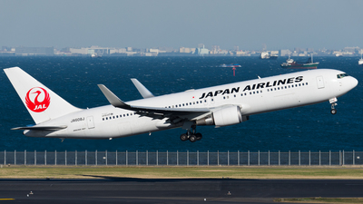 JA608J - Boeing 767-346(ER) - Japan Airlines (JAL)