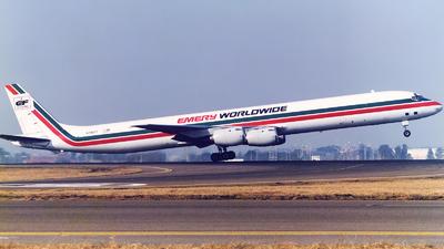 N796FT - Douglas DC-8-73(CF) - Emery Worldwide
