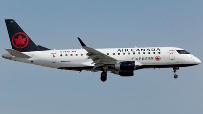 A picture of CFEKH - Embraer E175SU - Air Canada - © Harry Huo