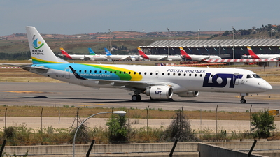 A picture of SPLNF - Embraer E195LR - LOT - © Guille Gª del Alamo