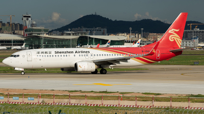 A picture of B1941 - Boeing 73787L - Shenzhen Airlines - © MICHAELWang