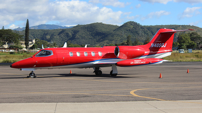N405GJ - Gates Learjet 35A - Private