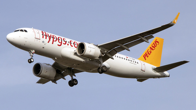 A picture of TCNBA - Airbus A320251N - Pegasus Airlines - © Paul Spijkers