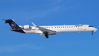 A picture of DACNO - Mitsubishi CRJ900LR - Lufthansa - © Andreas Fietz